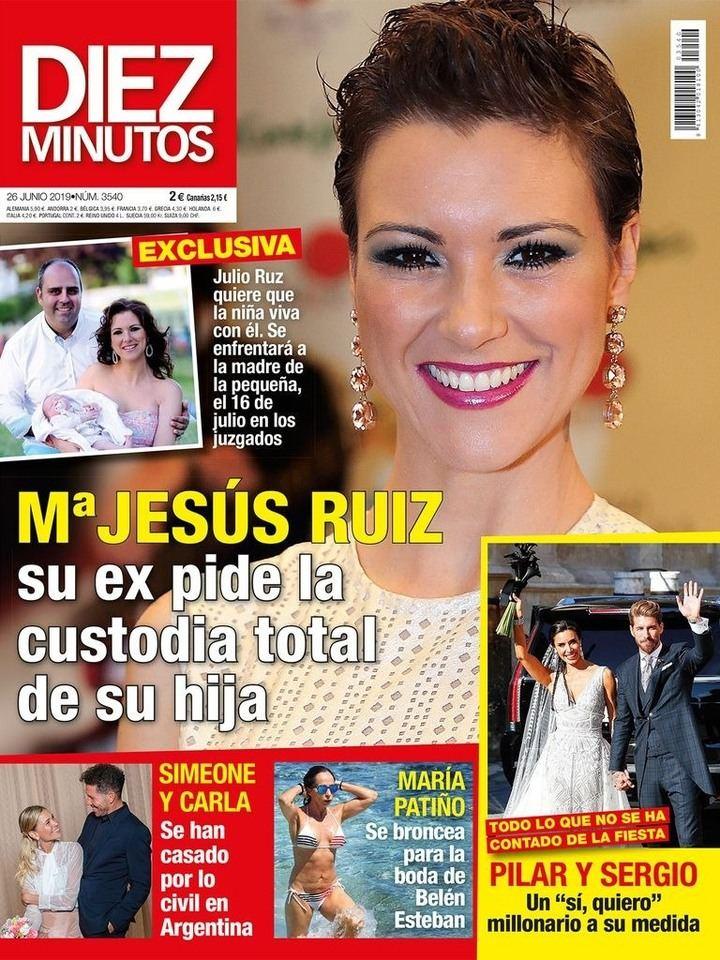 DIEZ MINUTOS Miki Nadal, condenado por vejar a su mujer, Carola Escámez