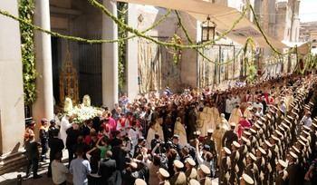 A partir de este lunes se ponen a la venta las 2.500 sillas para la procesión del Corpus Christi de Toledo a 10 euros