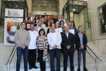 Entregados los premios del Concurso de la Ruta de la Tapa de Primavera de Guadalajara 2019