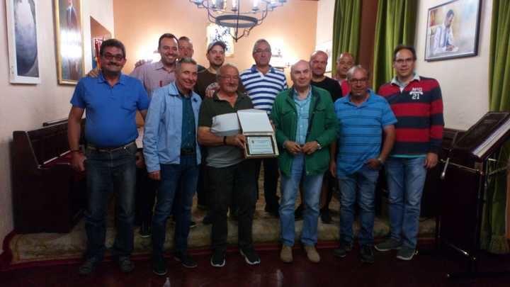 Homenaje municipal en Sigüenza a Antonio Escudero García con motivo de su jubilación