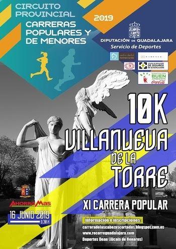 El domingo 16 se celebrará XI Carrera Popular de Villanueva de la Torre