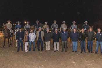 Amador Martín López se lleva el III Concurso Nacional de Doma Vaquera de Ecualtur montando a 'Libertino'