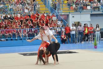 Homenaje a las monitoras de las Escuelas Municipales y a Álvaro Rojas en la Fiesta del Deporte de Azuqueca