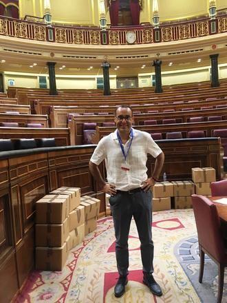 """Antonio de Miguel traslada en el Congreso de los Diputados """"la necesidad de elaborar un plan para frenar la pérdida de la biodiversidad en España"""""""