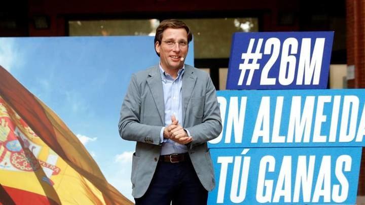El PP pacta con Ciudadanos que Almeida sea alcalde de Madrid y Villacís vicealcaldesa, a la espera de que lo apoye Vox