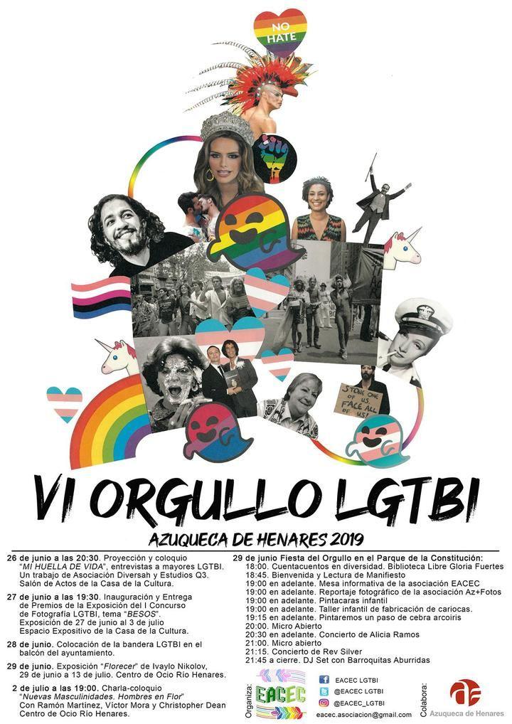 Las actividades del VI Orgullo LGTBI en Azuqueca comienzan este miércoles