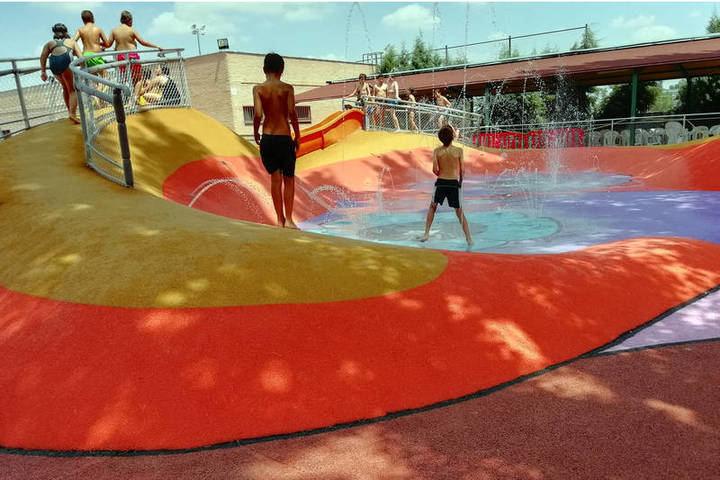 Todo listo en Azuqueca para la apertura de la piscina de verano