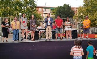 Alberto Rojo pregona las fiestas de El Alamín y destaca la importancia que tienen los barrios para reforzar el sentimiento de pertenencia y la convivencia