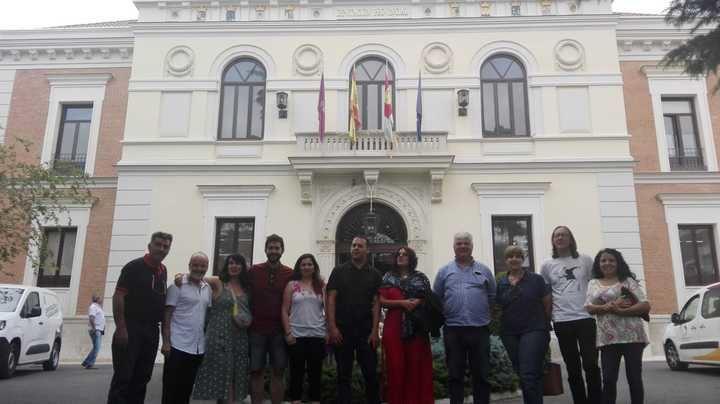 Daniel Touset, nuevo diputado de Unidas Podemos-IU en la Diputación de Guadalajara