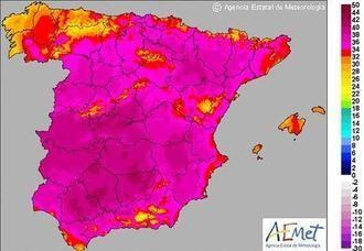 Atención a la primera ola de calor de este verano que llegará el martes a Guadalajara y a Castilla La Mancha