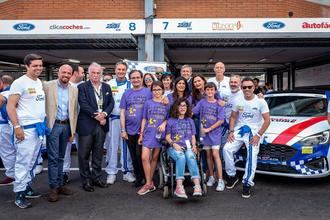 Fundación Nipace obtiene el segundo lugar en la carrera de las 24 Horas Ford del Jarama