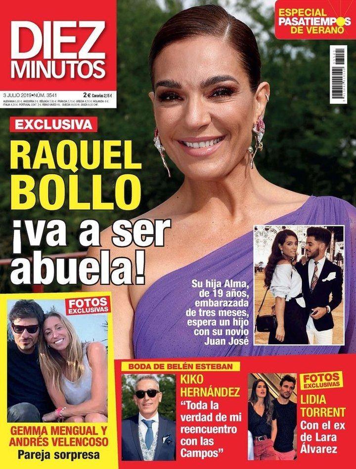 DIEZ MINUTOS Raquel Bollo va a ser abuela: Su hija Alma está embarazada