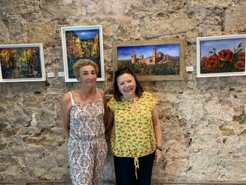 La Asociación de Amas de Casa de Sigüenza muestra su arte