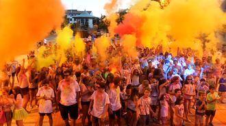 El sábado 13 de julio, 2ª Carrera de Colores de Cabanillas del Campo