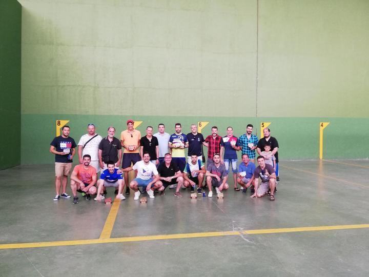Acto final de temporada de la Liga Provincial de Frontenis de Guadalajara