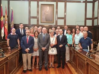 La Diputación Provincial celebra la festividad del Sagrado Corazón homenajeando a sus trabajadores
