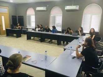 Las historiadoras de Guadalajara Laura Lara y María Lara, profesoras en la Georgian-American University