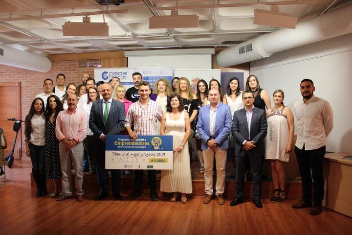 Wite gana los 3.000 euros del Programa de Apoyo a Emprendedores de Guadalajara