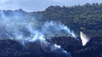 El incendio de Ribera de Ebro (Tarragona) afecta ya, en solo 6 horas, a 3.600 hectáreas y puede llegar...a las 20.000