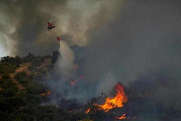 El Gobierno de Madrid y de Castilla-La Mancha piden la ayuda de la UME por el incendio originado en Toledo