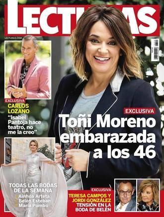LECTURAS María Teresa Campos desprecia a Jordi González en la boda de Belén Esteban