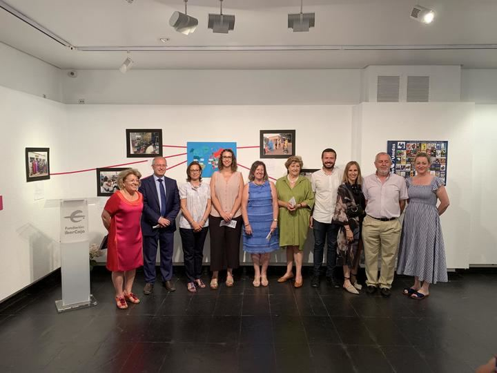 Manos Unidas inaugura en la Fundación IberCaja de Guadalajara la exposición 'Manos Agradecidas'