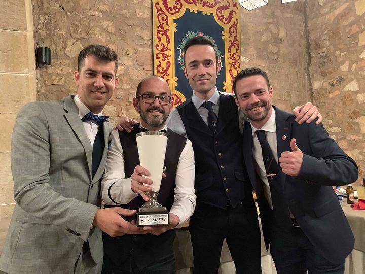 Santy Checa campeón de Castilla-La Mancha en cóctel clásico con 'Basquiat'