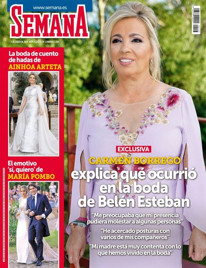 SEMANA Gema López abandona el plató de 'Sálvame' tras discutir con Jorge Javier Vázquez