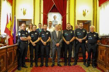 Este lunes se han incorporado cuatro agentes de la Policía Local de Guadalajara