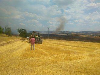 Controlado el incendio en Masegoso de Tajuña