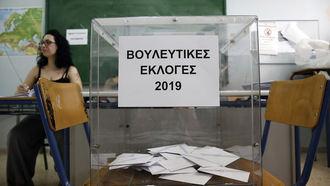 La derecha griega barre al