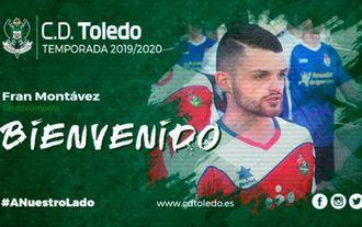 Fran Montávez, nuevo jugador del CD Toledo