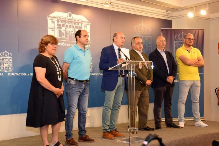 José Manuel Latre se despide de la Presidencia de la Diputación de Guadalajara dando las gracias a todo el mundo