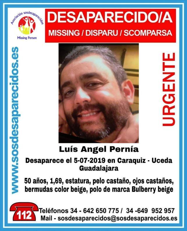 Hallan tirado en un paraje el cadáver del hombre desaparecido en Uceda el pasado viernes