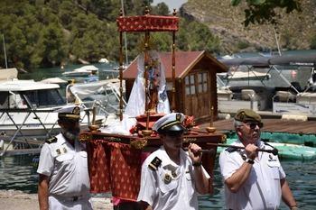 Almonacid de Zorita acogió la XIX edición de la Procesión Marinera Lago de Bolarque
