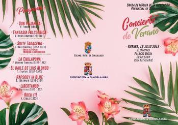 La Banda de Música de la Diputación ofrecerá tres conciertos este fin de semana