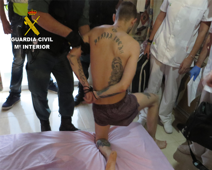 La Guardia Civil detiene a dos personas en Cebolla por tráfico de drogas