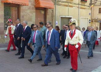 Primera visita institucional de José Luis Vega a Molina de Aragón