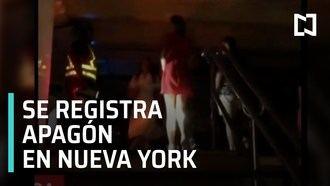 ÚLTIMA HORA : Apagón en Nueva York, el centro de Manhattan se queda sin luz