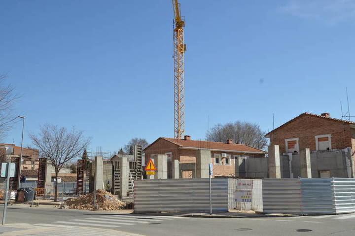 Las obras de construcción del nuevo Centro Cultural están paradas
