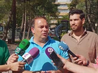 Carnicero afirma que si la obra de la Concordia siguiera bajo la tutela del gobierno del PP el parque no estaría cerrado