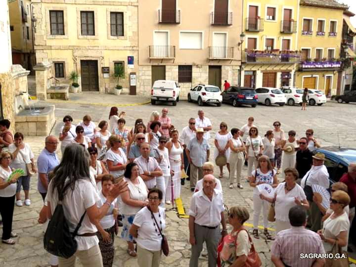 Un grupo de yunqueranos realizo una visita cultural a la vecina Brihuega