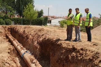 La MAS continúa con la renovación de las tuberías de la conducción 1 entre Beleña y Alcalá de Henares