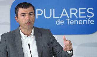 El PP de Tenerife llama a Arriaga (C's)
