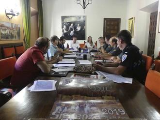 Reunión de la Junta Local de Seguridad de Sigüenza para supervisar el dispositivo de las fiestas