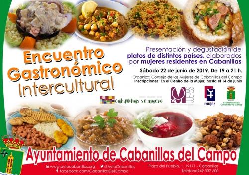 Encuentro de mujeres en Cabanillas, en torno a la cocina internacional