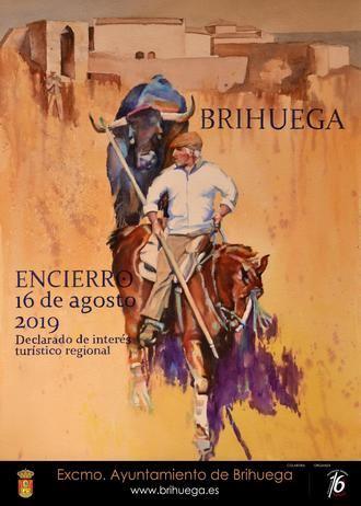 Ya hay ganador del VII concurso del cartel anunciador del encierro de Brihuega 2019