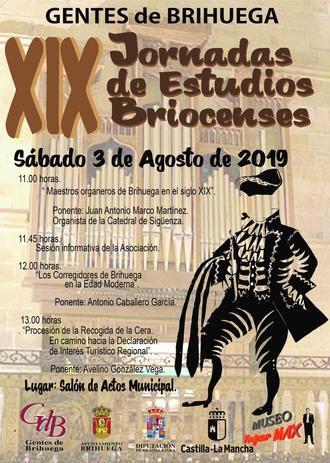Todo listo para las XIX Jornadas de Estudios Briocenses