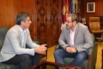 El subdelegado del Gobierno se reúne con el delegado de la Junta para abordar asuntos de interés común para Guadalajara