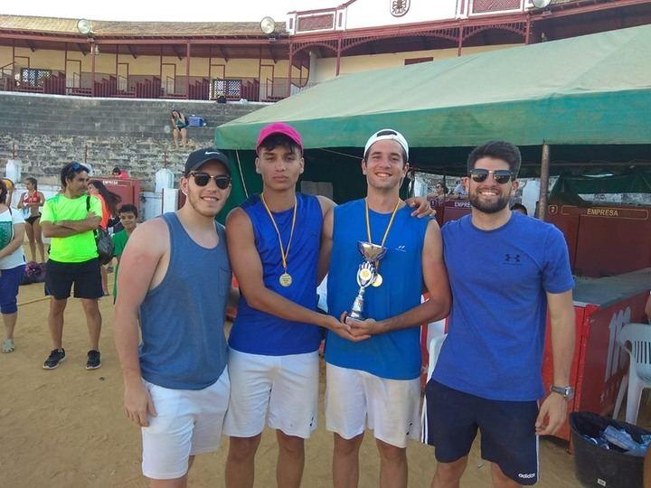 El Club Deportivo Salesianos representará a Castilla-La Mancha en el Campeonato de España de Vóley Playa Sub-19